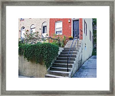 Corner Row Home Framed Print by Brian Wallace