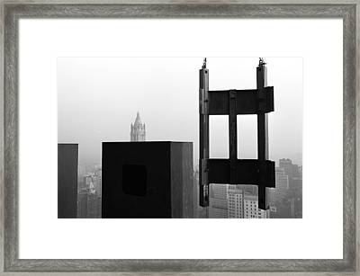 Corner Section Tower 1 Framed Print