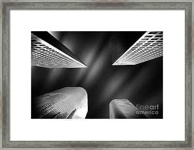 Cornered Framed Print by Az Jackson