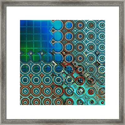 Cornered Framed Print by Wendy J St Christopher