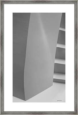Corners - Abstract Framed Print