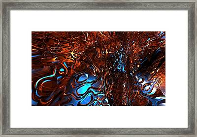 Corners Of My Mind Framed Print by Louis Ferreira