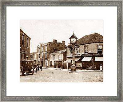 Cornhill Highbridge England Framed Print by The Keasbury-Gordon Photograph Archive
