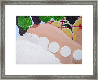 Framed Print featuring the painting Cornicopia by Rand Swift