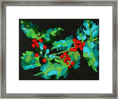 Cornish Christmas  Framed Print by Deborah Barton