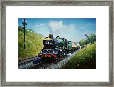 Cornish Riviera To Paddington. Framed Print by Mike  Jeffries