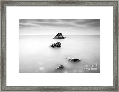 Cornish Seascape  Framed Print