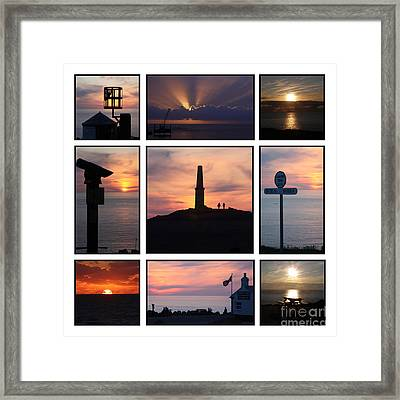 Cornish Sunsets Framed Print