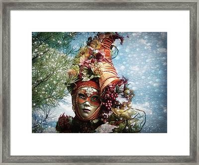 Cornucopia Framed Print by Barbara Orenya
