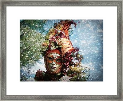 Framed Print featuring the photograph Cornucopia by Barbara Orenya