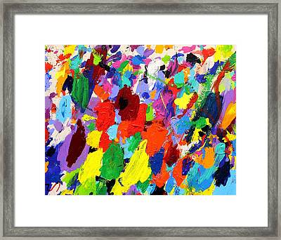 Cornucopia Of Colour I Framed Print by John  Nolan