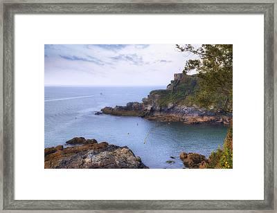 Cornwall - Fowey Framed Print by Joana Kruse