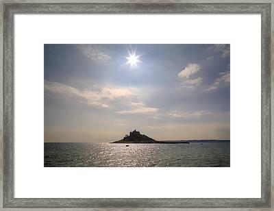 Cornwall - St Michael's Mount Framed Print