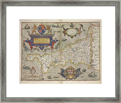 Cornwall Framed Print by British Library