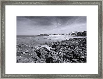 Cornwall Coastline 2 Framed Print by Doug Wilton
