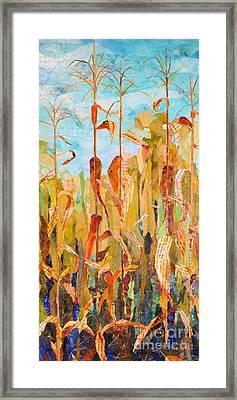 Corny Framed Print
