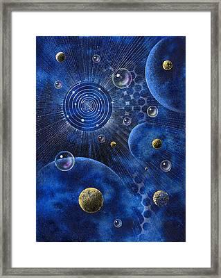 Corona Framed Print by Achim Prill
