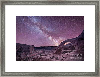 Corona Arch Milky Way Framed Print