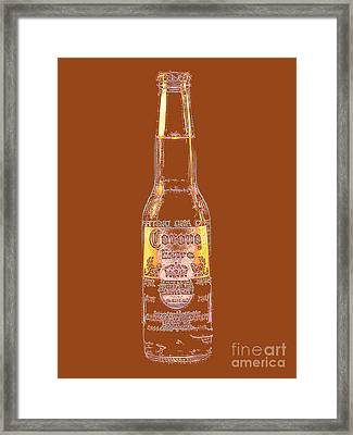 Corona Beer 20130405v2 Framed Print by Wingsdomain Art and Photography