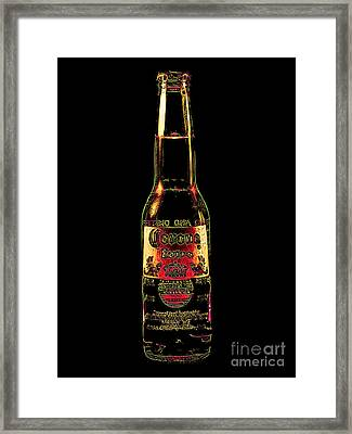 Corona Beer 20130405v3 Framed Print by Wingsdomain Art and Photography