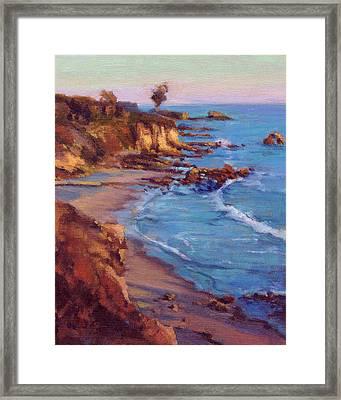 Corona Del Mar / Newport Beach Framed Print