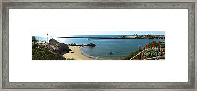 Corona Del Mar State Beach Framed Print by Gregory Dyer