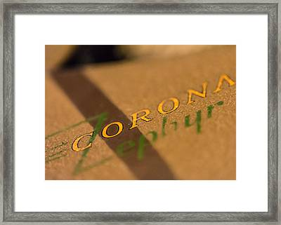 Corona Zephyr Framed Print by Jon Woodhams