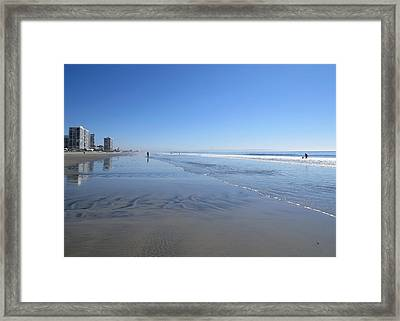 Coronado Beach Framed Print