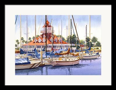 Club Paintings Framed Prints