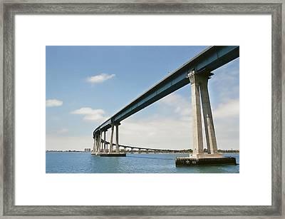 Coronado Bridge Framed Print by Andrew Kasten