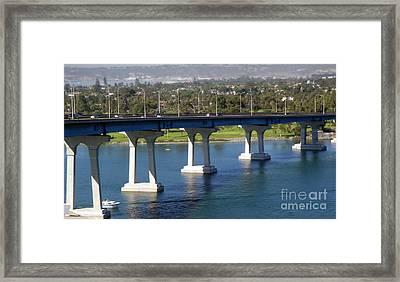 Coronado Bridge Framed Print by Gregory Dyer