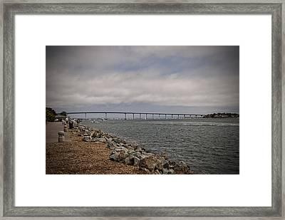 Coronado Bridge Framed Print