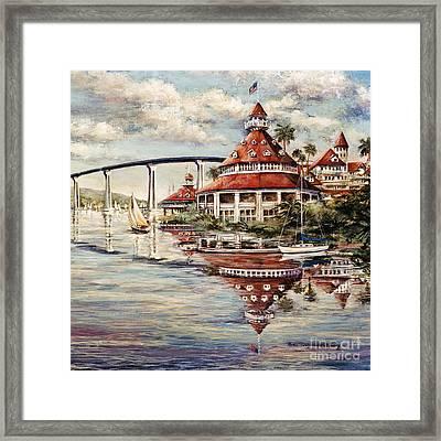 Coronado Centennial Framed Print