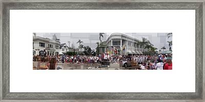Coronado Fourth Of July Parade Framed Print