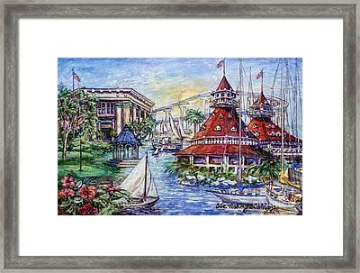 Coronado Heritage Framed Print