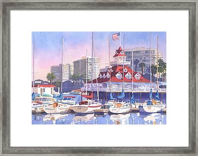 Coronado Shores Framed Print