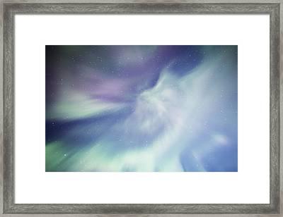 Coronal Aurora Framed Print