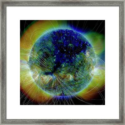 Coronal Hole Framed Print