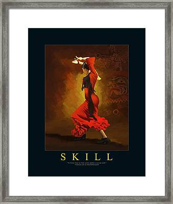 Corporate Art 001  Framed Print by Catf