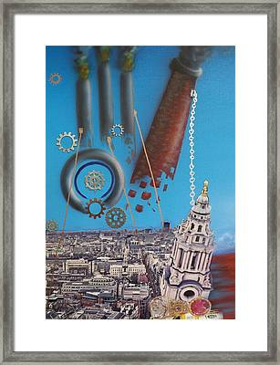 Corporate Greed Framed Print