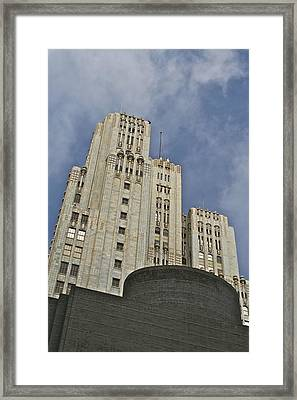 Corporate Monolith  Framed Print