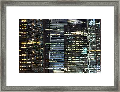 Corporate Singapore Framed Print
