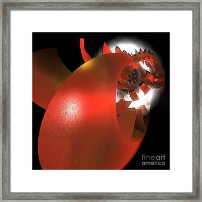Corporation By Jammer Framed Print