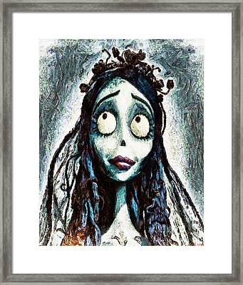 Corpse Bride Framed Print by Joe Misrasi