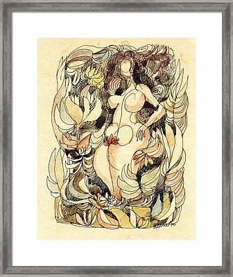 Corpulence Framed Print by Horst Braun