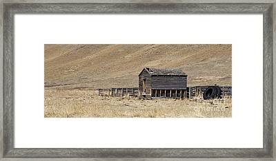 Corral Framed Print by Dee Cresswell