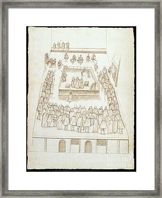 Correspondence Of Mary Queen Of Scots Framed Print