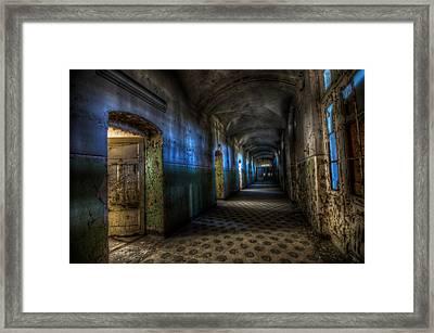 Corridor Of Darkness  Framed Print