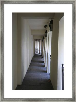 Corridor Framed Print by Randi Shenkman