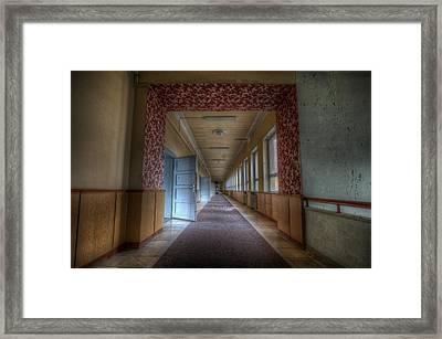 Corridors Of Propaganda   Framed Print